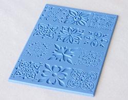 Как сделать текстурный лист для полимерной глины